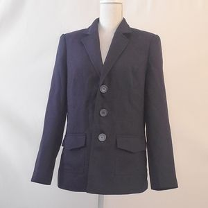 Liz Baker blue blazer jacket 10